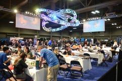 SXSW festival 2014 gaming expo royalty free stock image