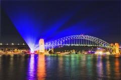 Sy生动的13座桥梁投射 免版税图库摄影