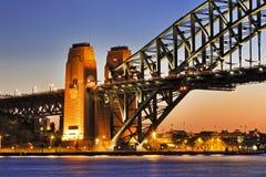 Sy Bridge Part Arch sunset Stock Photo