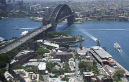 Sy Bridge Rocks Top Stock Photo