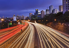 Sy Cahill expressway wide sunset Stock Photo