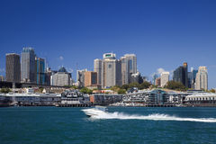 Sy CBD BP Boat day Royalty Free Stock Images