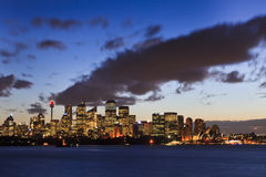 Sy CBD Cremorne 65mm Set Royalty Free Stock Photos
