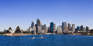 Sy CBD Quay Mils Pan Day Royalty Free Stock Photography