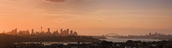 Sy CBD Red Set Dover Heights Pan Royalty Free Stock Photography