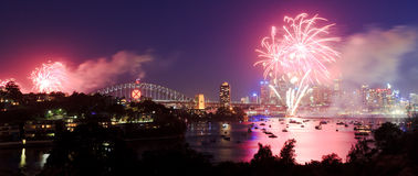 Sy Fireworks Pan Royalty Free Stock Image