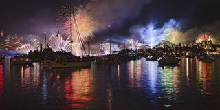 Sy Navy Fireworks Pan Stock Image