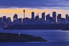 Sy North Head 300mm Blue Royalty Free Stock Images