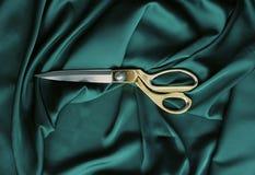 Sy sax för tillbehörvisartråd som klipper att sy arkivbilder