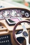 Syacht steering wheels Royalty Free Stock Photography
