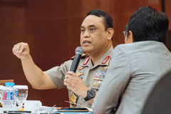 Syafruddin is the National Police Deputy Chief. Syafruddin is the new appointed National Police Deputy Chief of indonesia Stock Images
