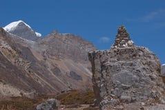 Syagand & buddist stupa Stock Image