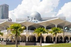 syakirin för moské för asyKuala Lumpur masjid Arkivfoton