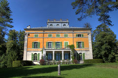 syam för chateaude france Royaltyfri Fotografi