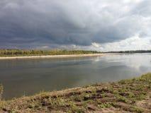Syberyjska rzeka Zdjęcie Royalty Free