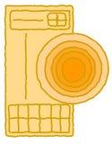 Sybol ou signe d'Amerindian Photo libre de droits