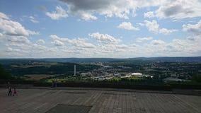 Syburg Dortmund Kaiser Wilhelm Denkmal Fotografia Royalty Free