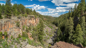 Sycamore Canyon Rim Trail in Arizona. Royalty Free Stock Photography