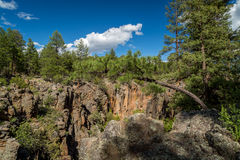 Sycamore Canyon Rim Trail in Arizona. Royalty Free Stock Images