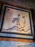 Sychar, Израиль, мозаика на поле в современном Стоковые Изображения