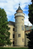 Sychrov castle. The tower of Sychrov castle, Czech Republic Stock Images