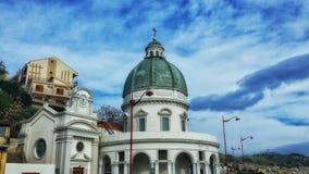 Sycylijski kościół Zdjęcia Royalty Free