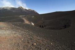Sycylijski Wulkan Zdjęcie Royalty Free