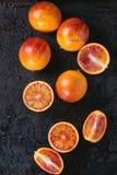 Sycylijskie Krwionośnych pomarańcz owoc Zdjęcie Stock