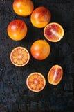 Sycylijskie Krwionośnych pomarańcz owoc Obraz Royalty Free
