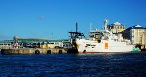 Sydafrika Cape Town hamnplats Royaltyfri Bild