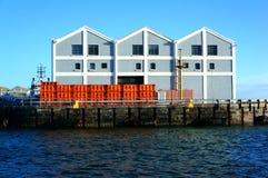Sydafrika Cape Town hamnplats Arkivbild