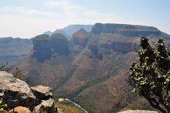 Sydafrika som är östlig, Mpumalanga landskap Fotografering för Bildbyråer