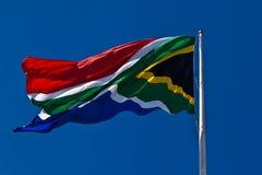 Sydafrikansk flagga. Royaltyfri Bild