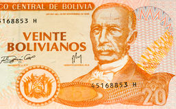 Sydamerika currancysedel Arkivbild
