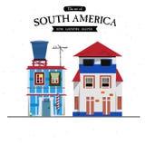 Sydamerika husstil - Royaltyfri Fotografi