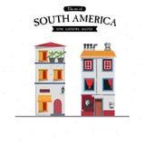 Sydamerika husstil - Royaltyfria Foton