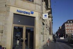 SYDBANK & NORDEA BANK Royalty Free Stock Image