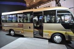 Sydkorea hyundai STÅNDSMÄSSIG buss Royaltyfri Bild