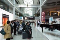 Sydkorea Incheon internationell flygplats Konsert av klassiskt Arkivbilder