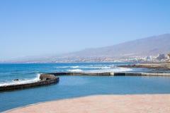 Sydkust av Tenerife, Spanien royaltyfri bild