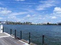 Sydlig Biscayne fjärd, Miami Florida Fotografering för Bildbyråer