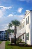 Sydlig bostads- grannskap Arkivfoto