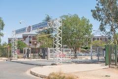 Sydlig ingång av universitetet av det fria tillståndet Arkivbild