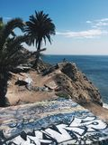 sydlig Kalifornien kust arkivfoto