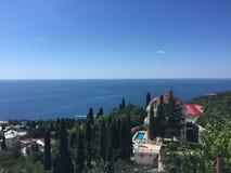 Sydlig kust av Crimeaen Arkivbild
