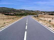 sydlig väg Royaltyfria Foton