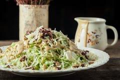 Sydliga Caesar Salad Arkivbilder