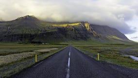 Sydliga Island Ring Road Royaltyfria Foton