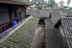 Sydliga Sichuan forntida boningar royaltyfria bilder