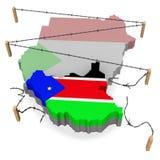sydliga sudan Royaltyfria Foton